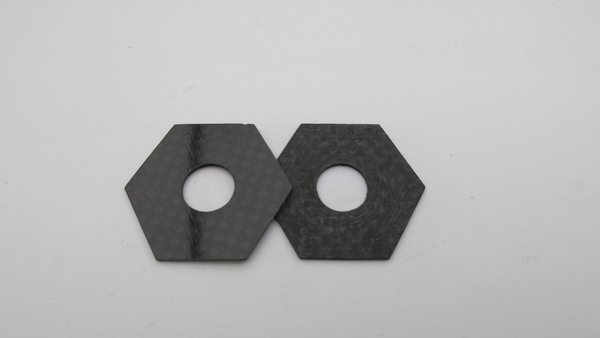 Carbon Fibre Slipper Pads for PR Cars