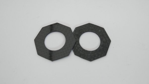 Carbon Fibre Slipper Pads for Associated Cars